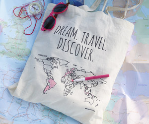 bag, discover, and diy image