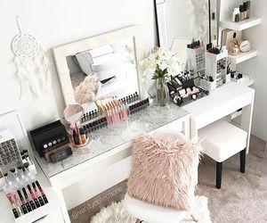 makeup, home, and make up image