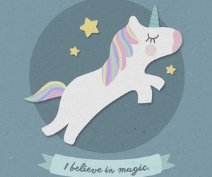 unicorn, wallpaper, and magic image