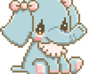 kawaii, pixel, and cute image
