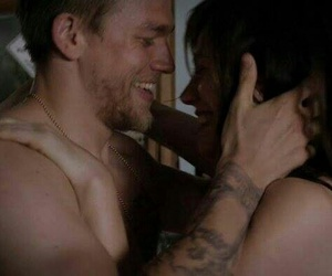 Charlie Hunnam, jax teller, and maggie siff image