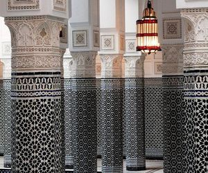 house, interior, and morocco image