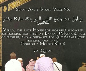 Mankind, makkah, and quran image