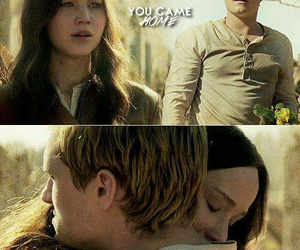 the hunger games and love image