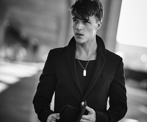 finn wittrock, ahs, and boy image