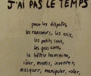 french, quote, and time image