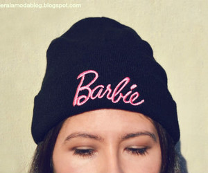 barbie, beanie, and fashion image
