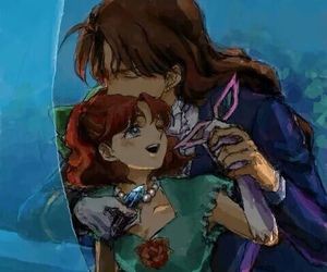 sailor moon and nephrite image
