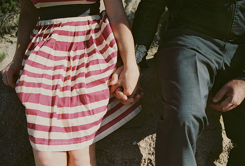 girl, hands, and holding hands image