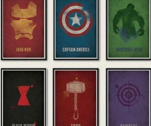 captain america, hawkeye, and Hulk image
