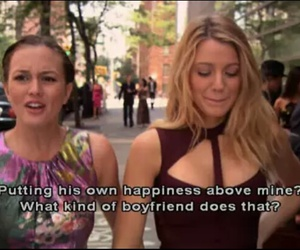 queen b, blair, and funny image