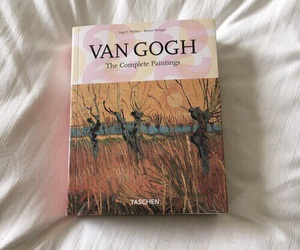 book, van gogh, and art image