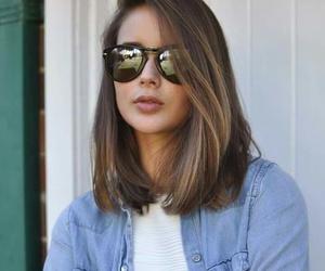hair, short hair, and hairstyle image