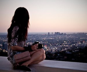 girl, city, and photography image