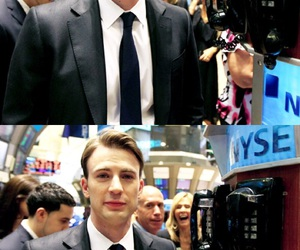 captain america, chris evans, and nyc image