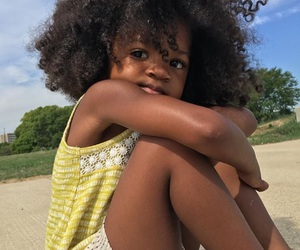 Afro, big hair, and kids image