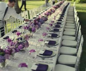 beautiful, decoracion, and purple image