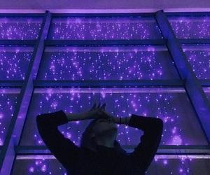 purple, light, and tumblr image