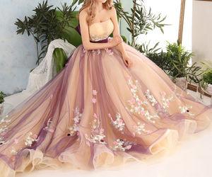 blanco, dress, and violeta image