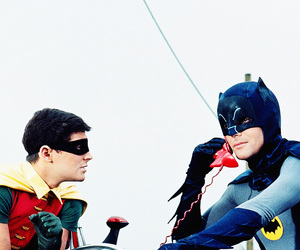 60's, batman, and robin image