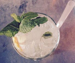 drink, mint, and lemonade image