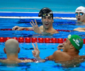Michael Phelps, olympics, and rio image