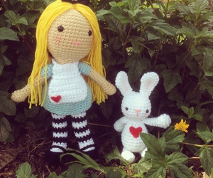 alice, handmade, and alice in wonderland image