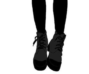 manga, black and white, and black image