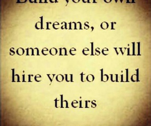 Build, dreams, and work image
