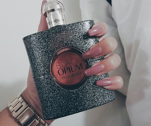black, fashion, and fragrance image