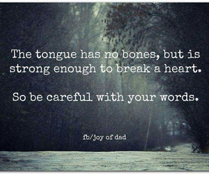 words, tongue, and quote image