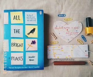 book, photography, and all the bright places image