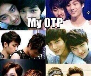 exo, kaisoo, and kpop image