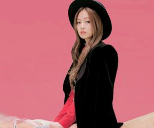 dancer, korean, and rose image