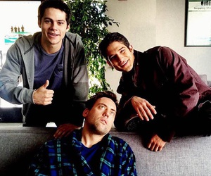 coach, dylan o'brien, and scott image