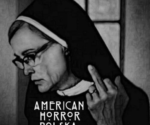asylum, glasses, and nun image