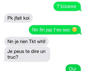 francais, message, and sms thug love image