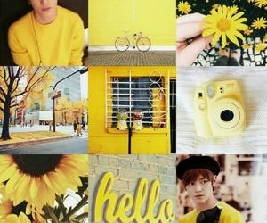 kpop, moodboard, and yellow image