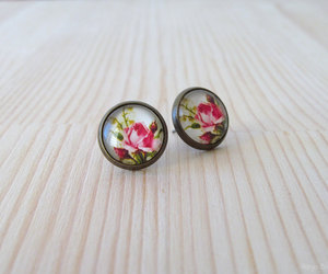 etsy, romantic, and ear studs image
