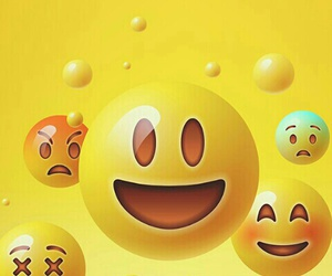 emoticons, wallpaper, and faccine image