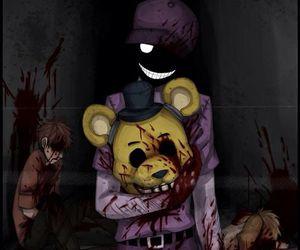 purple guy and fnaf image
