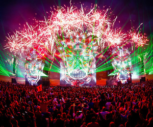 defqon1, festival, and lights image