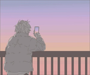 aesthetic, anime, and illustration image