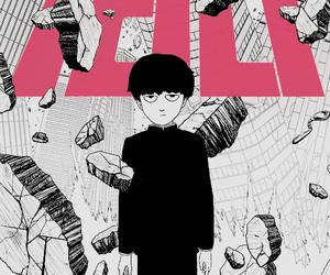 anime, mob, and wallpaper image