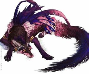 bird and wolf image