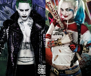 couple, DC, and harley quinn image
