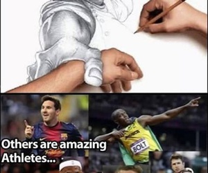 funny, lol, and athlete image
