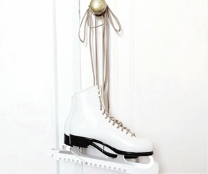 ice skate and white image