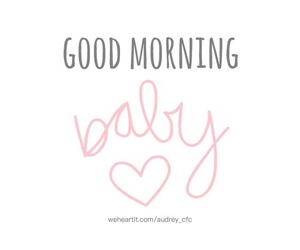 baby and morning image