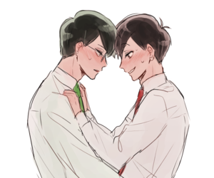 bl, osochoro, and shounen-ai image